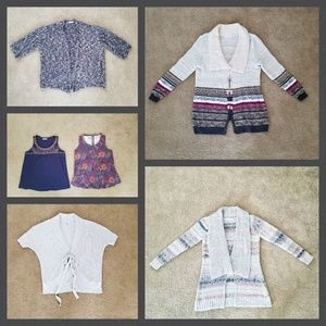 Lot of Maurices Sweaters/Tunics/Tanks-Plus Size 2